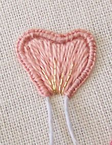 L&S Stitch Petal with Gold