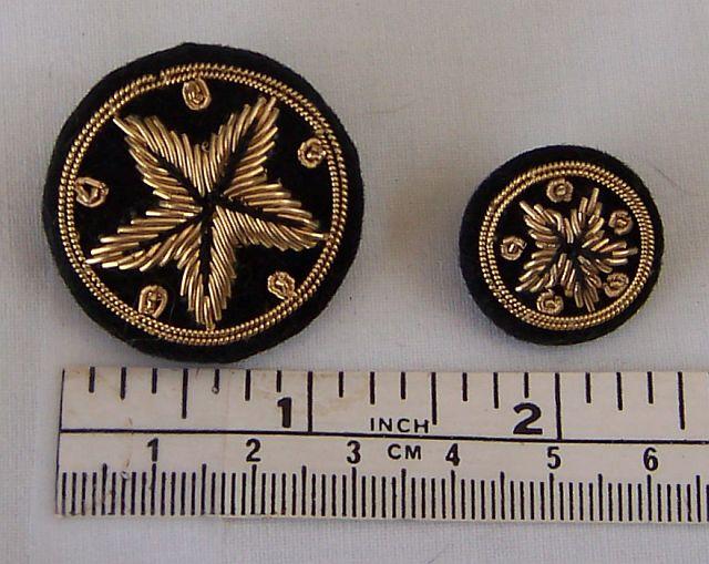Goldwork Button GoldPurl