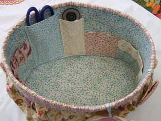 Sewing Basket Inside