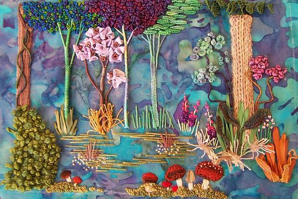 Enchanted Forest Tutorial Getting Started Gold N Stitches